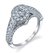 Halo Style Diamond Ring