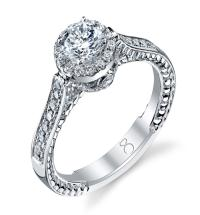 1 Carat Single Row Diamond Ring