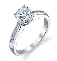 1.25 Carat Diamond Bridal Ring