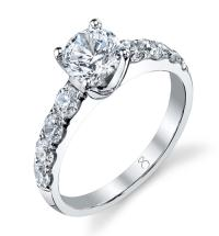 2 Carat Round Diamond Ring