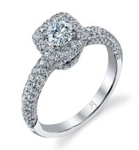 2 Carat Square Diamond Ring